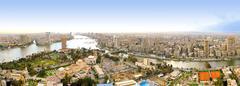 cairo tower view - stock photo