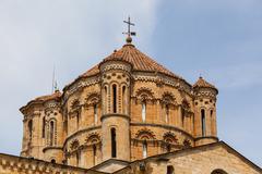Great romanesque dome in toro collegiate church in zamora Stock Photos