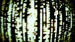 TV Noise, Data Loss 0916 - 720p - stock footage