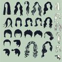 Stock Illustration of hair silhouette