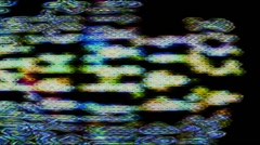 TV Noise, Data Loss 0922 - 720p - stock footage