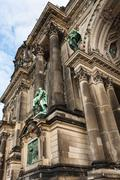 Stock Photo of detail of evangelical supreme parish and collegiate church in berlin