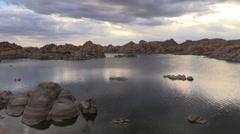 Watson Lake Prescott Arizona Stock Footage