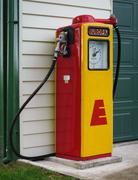 europa fuel pump - stock photo