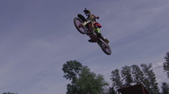 Freestyle Motocross - stock footage