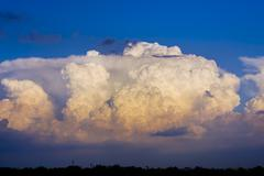 Large Cumulonimbus Thunderstorm Stock Photos