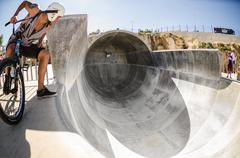 miguel semens on the bowl - stock photo