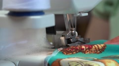 Seamstress makes clothes Stock Footage