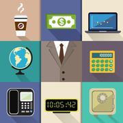 Business suit set Stock Illustration