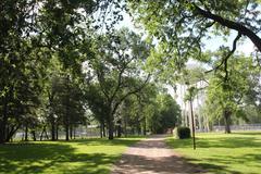 Prentis park - stock photo