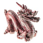 Chinese wooden dragon Stock Photos