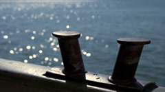 Boat abstract - slow motion Stock Footage