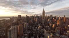NYC Aerial 4K video Arkistovideo