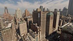NYC Aerial 4K Video Stock Footage