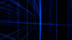 Horizontal and vertical lines art background 7 Stock Footage