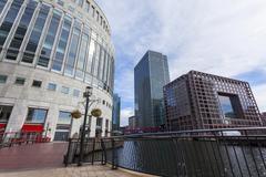 Canary Wharf, Docklands, London, England, United Kingdom - stock photo