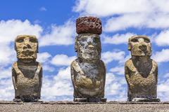 Easter Island (Isla de Pascua) (Rapa Nui), Chile - stock photo