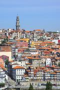 Stock Photo of Torre dos Clerigos, Old city, Oporto, Portugal