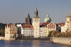 Old Town (Stare Mesto), Prague, Bohemia, Czech Republic - stock photo