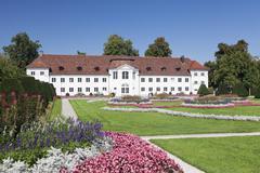 Orangery at Court Garden Hofgarten, Kempten, Schwaben, Bavaria, Germany, Europe Stock Photos