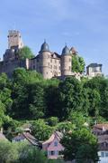 Wertheim Castle, Wertheim, Main Tauber District, Baden Wurttemberg, Germany Stock Photos