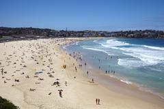 Bondi Beach, Sydney, New South Wales, Australia, Pacific Stock Photos