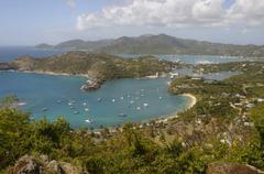 Antigua, Leeward Islands, West Indies, Caribbean, Central America Stock Photos