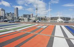 Auckland, North Island, New Zealand, Pacific Stock Photos