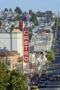 Iconic Castro, San Francisco, California, USA Stock Photos