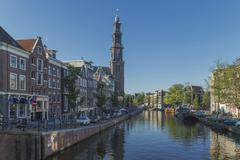Canal, Amsterdam, The Netherlands, Europe Kuvituskuvat