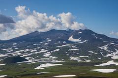 Smoking Gorely volcano, Kamchatka, Russia, Eurasia Kuvituskuvat