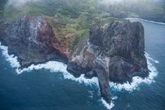Aerial of the rocky cliffs of western Maui, Hawaii, United States of America Kuvituskuvat