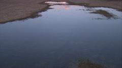 1080HD Cineflex British Columbia fly over shot of lake 2 Stock Footage