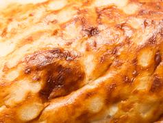 Stock Photo of crust of bread as background. macro