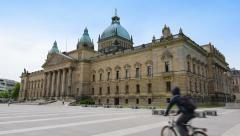 Federal administrative court leipzig germany 11396 Stock Footage
