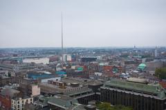 Dublin Skyline Kuvituskuvat