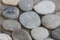 Handful of stones Stock Photos