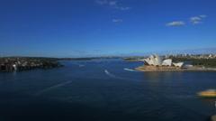 Sydney satama timelapse Arkistovideo