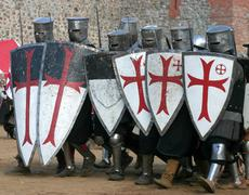 Knightly tournament Stock Photos
