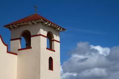 Fort bragg mission church Stock Photos