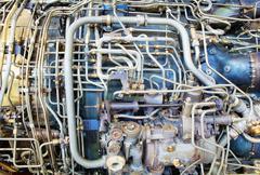 Jet engine innards Kuvituskuvat