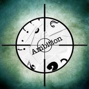 Ambition target Stock Photos