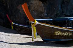 Longboat - stock photo