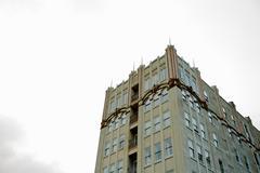 Stock Photo of deco building sky