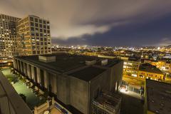San Francisco urban yö Kuvituskuvat