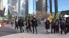 Calgary Alberta - Downtown - 1920 X 1080 HD - stock footage