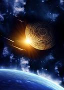 Maya prophecy - stock photo