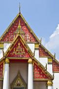 Viharn Phra Mongkol Bo-Bitr Stock Photos