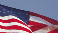 4K United States of America Flag Stock Video Footage Stock Footage