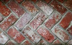 Alternating bricks Stock Photos